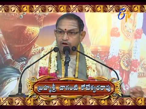 Characters in Sri Mahabharatam by Brahmasri Changanti | Subhamastu | 13th October 2016