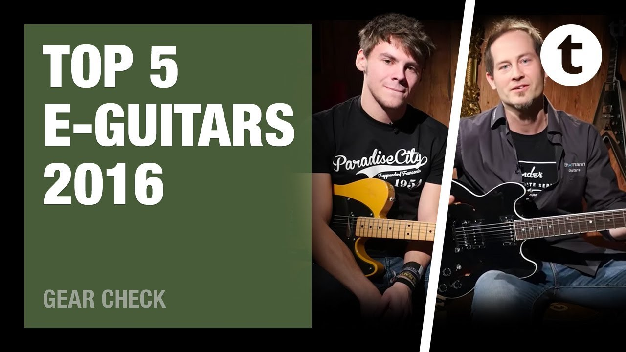 Top 5: The best electric guitars of 2016