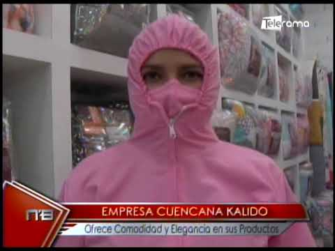 Empresa cuencana Kalido ofrece comodidad y elegancia en sus productos