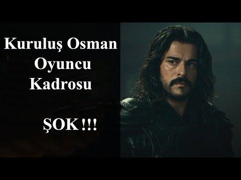 Kuruluş Osman Oyuncuları'nın Yaşları, ŞOK!!! (Kuruluş Osman Kadrosu, Oyuncuları'nın İsimleri)