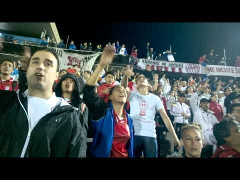 Esta es la banda loca de los quemeros! recibimiento contra Peñarol Libertadores - La Banda de la Quema - Huracán