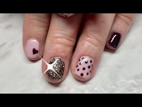 Gel nails - Add Strength to Natural Nail with Gel Polish & Acrylic Powder