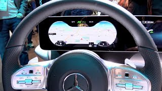 MBUX - New infotainment system of Mercedes-Benz EXPLAINED