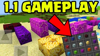 I Played Minecraft Pocket Edition 1.1 Update EARLY!!! // MCPE 1.1 Gameplay Preview!!