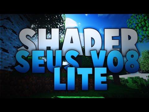 [Minecraft] Shader Seus v08 lite. 1.7.x 1.6.x et 1.5.x :) HD 1080p (видео)