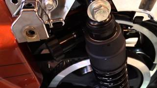 8. Manual Adjust Harley Davidson Street Glide Touring Rear Suspension | Biker Podcast