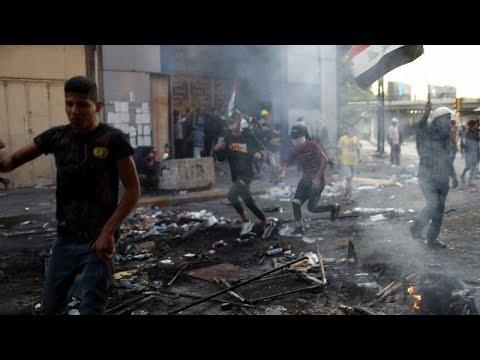 Βήμα πίσω από τον Ιρακινό πρωθυπουργό – Αμείωτη ένταση στις διαδηλώσεις…