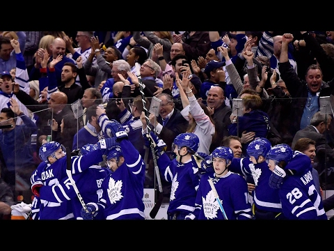 Maple Leafs take wild one over Penguins to clinch playoff berth
