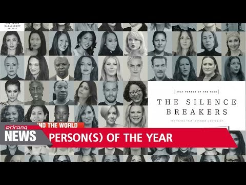 Time magazine names 'The Silence Breakers' behind #MeToo movement as Person of the Year