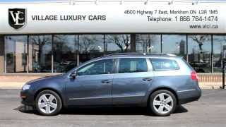 2009 Volkswagen Passat Wagon In Review - Village Luxury Cars Toronto