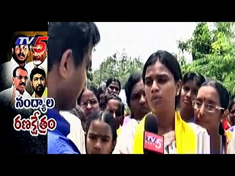 Bhuma Mounika Reddy Face To Face | Nandyal By-Election Campaign | TV5 News