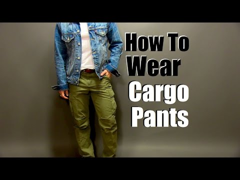How To Wear Cargo Pants| Slim Fit Cargo Pant Styling Tips