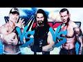 WWE 2K15: Randy Orton VS John Cena VS Seth Rollins [FR//HD]