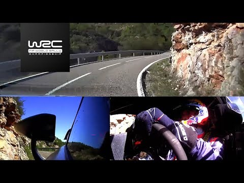 WRC - RallyRACC 2017: ONBOARD Sordo SS19