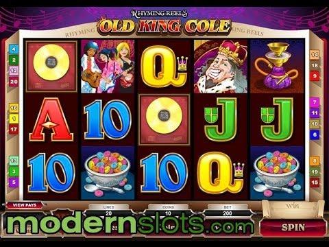 Rhyming Reels Old King Cole Slot Machine at ModernSlots.com