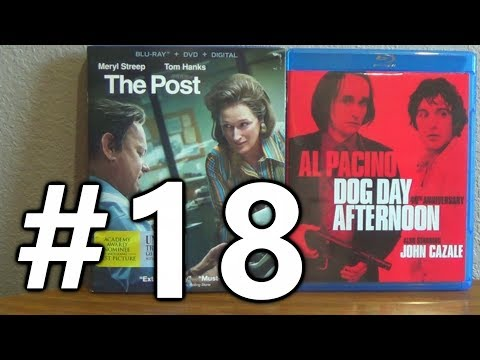 Monday Movie Pick-Up #18 - NEW BLU-RAYS (Dog Day Afternoon, The Post)