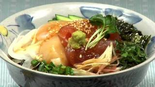 How to Make Kaisendon 海鮮丼の作り方 (Japanese Sashimi Rice Bowl)