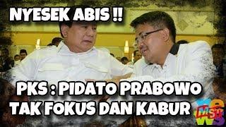 Video Nyesek Abis! PKS Kritik Pidato Prabowo Tak Fokus dan Kabur, DKI: Data Salah Mudah Diketahui! MP3, 3GP, MP4, WEBM, AVI, FLV Januari 2019