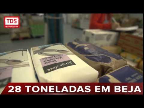 BANCO ALIMENTAR DE BEJA RECOLHE 28 TONELADAS DE ALIMENTOS