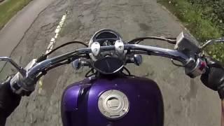 10. Riding Yamaha Roadstar Warrior 1700