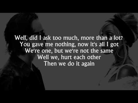 Bono and mary blige one lyrics