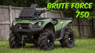 5. HERE SHE IS.... The Brute Force 750!!