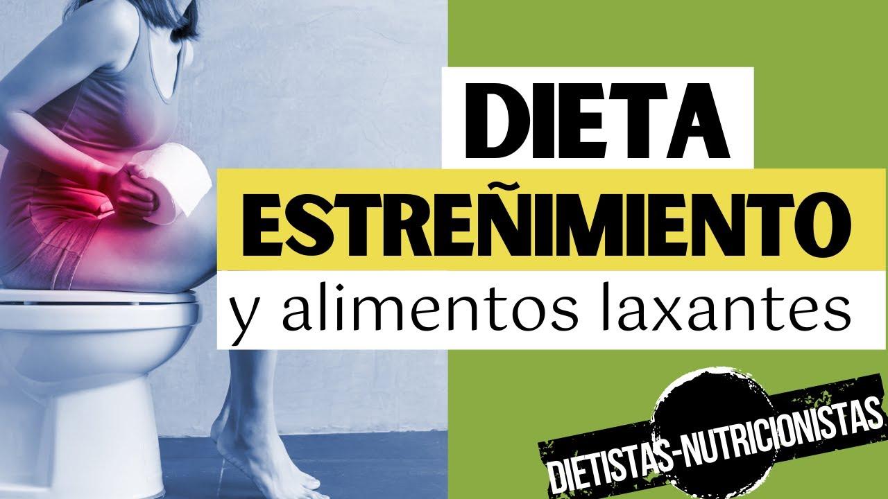 vídeo sobre la dieta para el estreñimiento