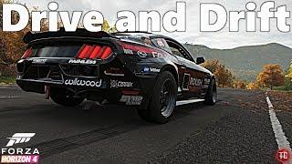 Forza Horizon 4: Justin Pawlak's Formula Drift Mustang! Drift Test, Gameplay, and 1,000,000+ Combo