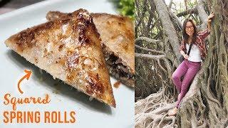 Video Fried Spring Rolls in Vietnam ♦ Exploring Hanoi's Hoan Kiem Lake MP3, 3GP, MP4, WEBM, AVI, FLV September 2018