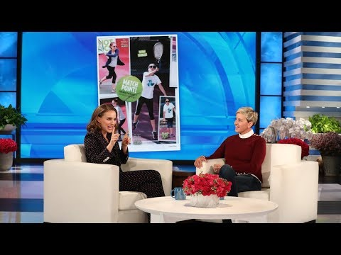 0 - Natalie Portman Reveals Ellen DeGeneres Won A Big Bet For Guessing The Sex Of Her Second Baby!