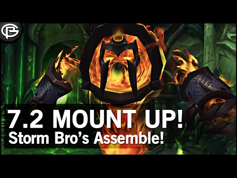 Mount Power! 7.2 Class Mounts and Campaigns (видео)