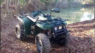 6. 2002 yamaha bear tracker