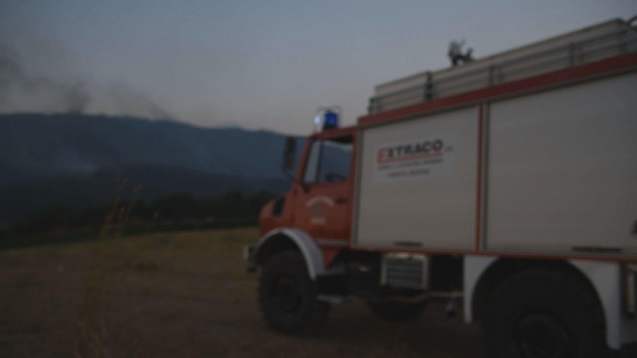 Καλύτερη εικόνα παρουσιάζει η πυρκαγιά στην Τανάγρα