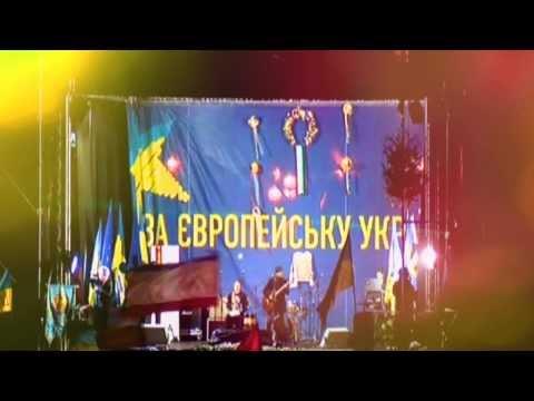 Нічний Львів (Євромайдан, 18.12.2013)