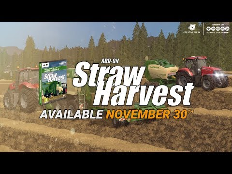 FS17 Add-On Straw Harvest  v1.0