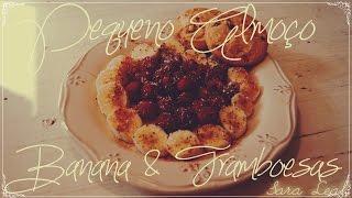 Olá outra vez! Desta vez venho trazer-vos uma receita criada por mim, muito simples, para o pequeno almoço ou até para o lanche! (:Ingredientes:Uma banana maduraFramboesas frescasMelCôco raladoSementes de ChiaCanela em pó Bolachas (à escolha)Espero que tenham gostado! Até à próxima!Facebook:https://www.facebook.com/pages/Sara-Leal-YoutubeART Facebook:https://www.facebook.com/saraalexandralealTwitter:https://twitter.com/SaraLeal95Instagram: http://instagram.com/saraleoaaa/Tumblr:http://saraleoa.tumblr.com/DeviantArt:http://isaidonce.deviantart.com/Send me your drawing requests:drawmesaraleal@gmail.com drawme_saraleal@hotmail.com