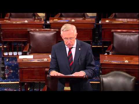 Harry Reid Refers to Anti-Gun Legislation Before Senate