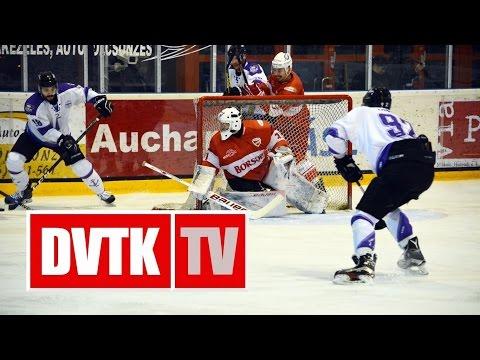 MOL 257 (elődöntő 5): DVTK Jegesmedvék - Újpest 2-1