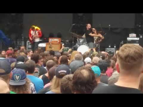 Clutch 08/12/17. How to shake hands. Edgefield McMenamins Oregon. Tony Skalecki. (видео)