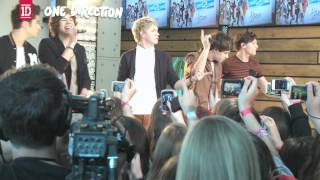 One Direction in Canada - Behind-The-Scenes
