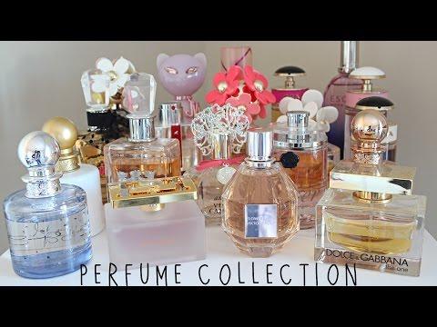 My Perfume Collection! Favorite Fragrances! (видео)