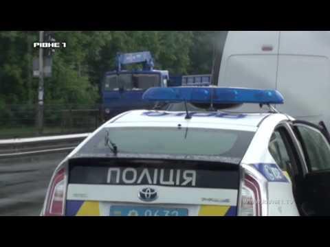 На Макарова мікроавтобус протаранив ВАЗівку [ВІДЕО]