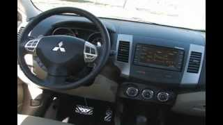 2012 Mitsubishi Outlander GT Review : MPGomatic Test Drive / Start Up / Engine / Tour