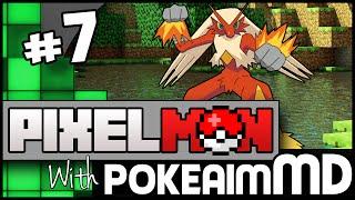 Minecraft Pixelmon Green w/ PokeaimMD, Akamaru, Gator & steve! Ep 7 - POKEBREEDER! by PokeaimMD