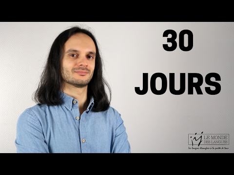 DÉFI : 30 jours pour mieux apprendre une langue