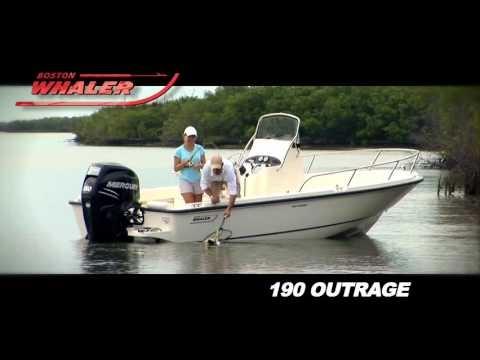 Boston Whaler 190 Outragevideo