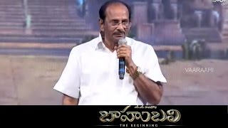 Video V. Vijayendra Prasad Speech @ Baahubali Audio Launch - Prabhas, SS Rajamouli MP3, 3GP, MP4, WEBM, AVI, FLV Mei 2019