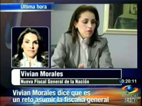 Viviane Morales Hoyos asume el mando de la Fiscalía General de la Nación