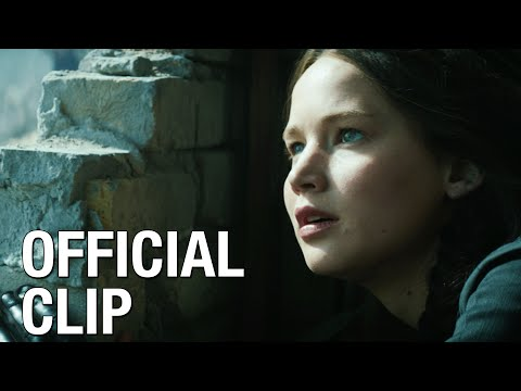 The Hunger Games: Mockingjay, Part 1 Clip 'Airstrike'