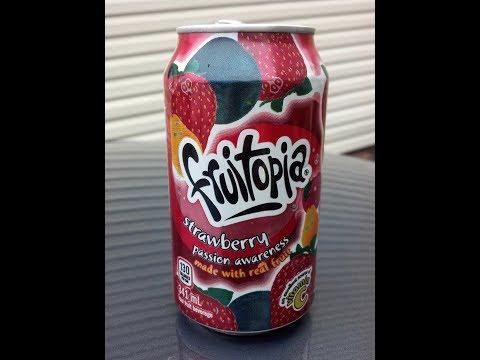 Fruitopia Strawberry Passion Awareness review